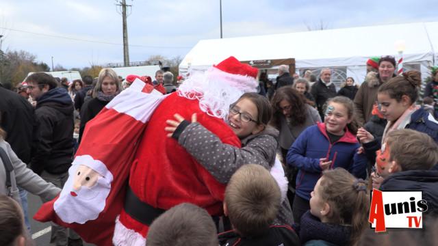 Pere Noël La Ronde Marché de Noël enfants