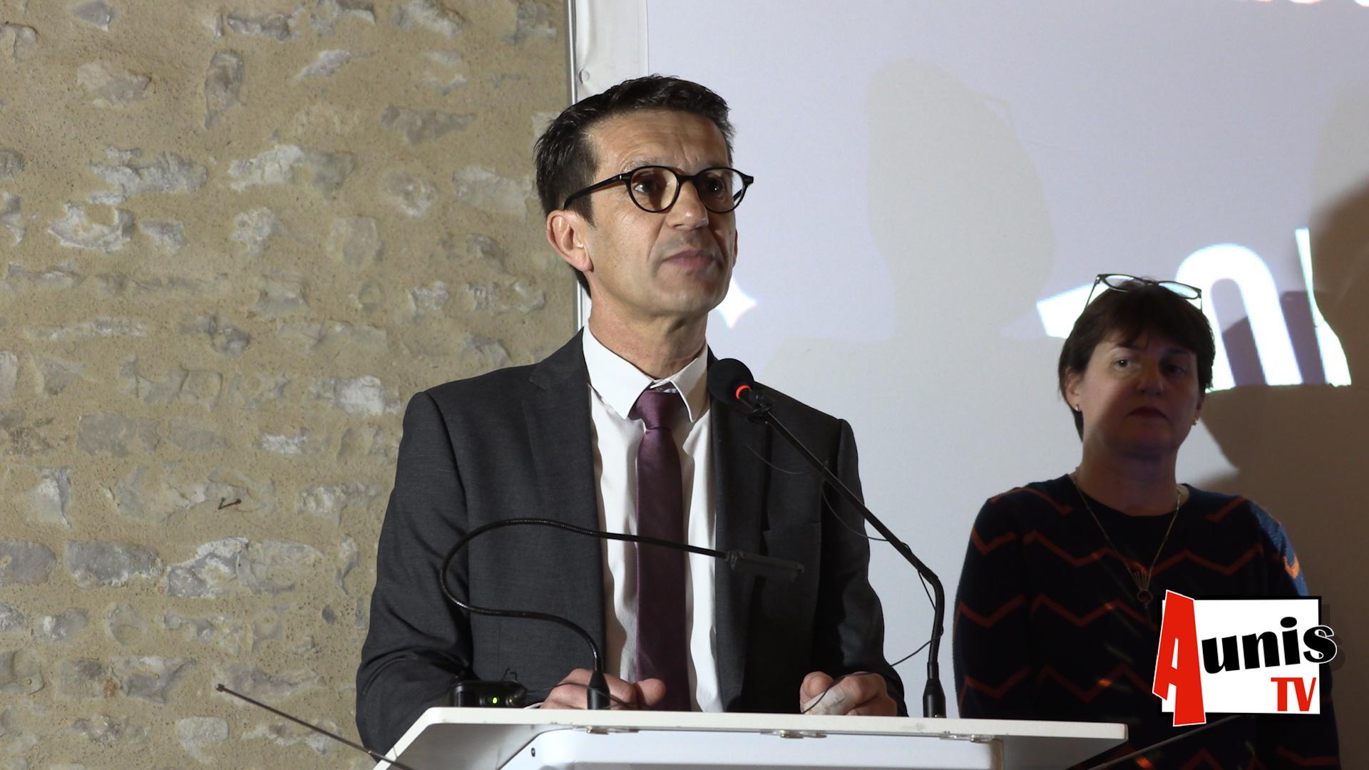 BENON Voeux 2020 CDC AUNIS ATLANTIQUE Jean Pierre Servant