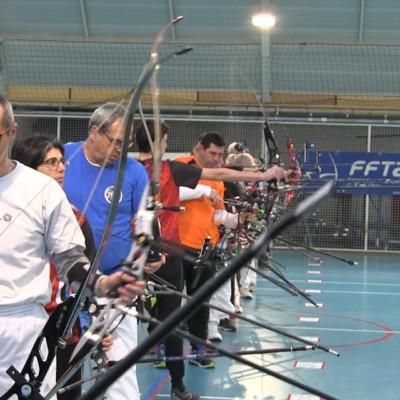 Compétition tir à l'arc Archers de rô Aytré