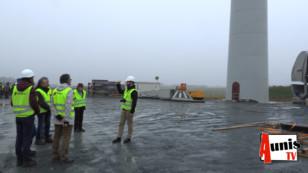 Chambon et Landrais voient pousser trois éoliennes en béton