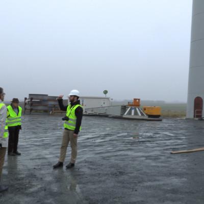 Eoliennes Chambon visite de chantier02