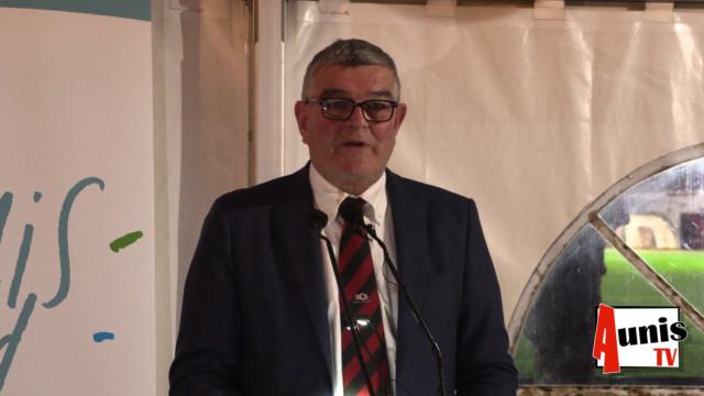Jean Gorioux Voeux CDC Aunis Sud 2020 Surgères