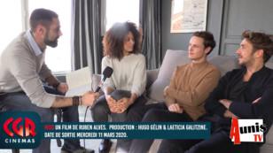 CGR Cinémas. La Rochelle : avec Ruben Alves, Alexandre Wetter et Stéfi Celma pour le film MISS