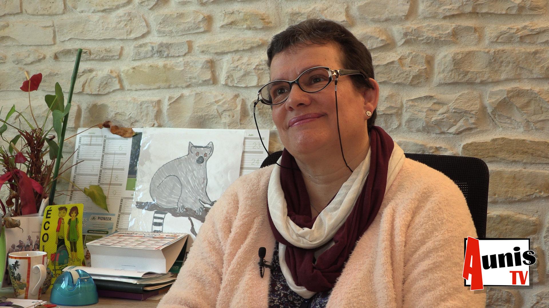 Nadia Boireau Maire Courçon Municipales 2020