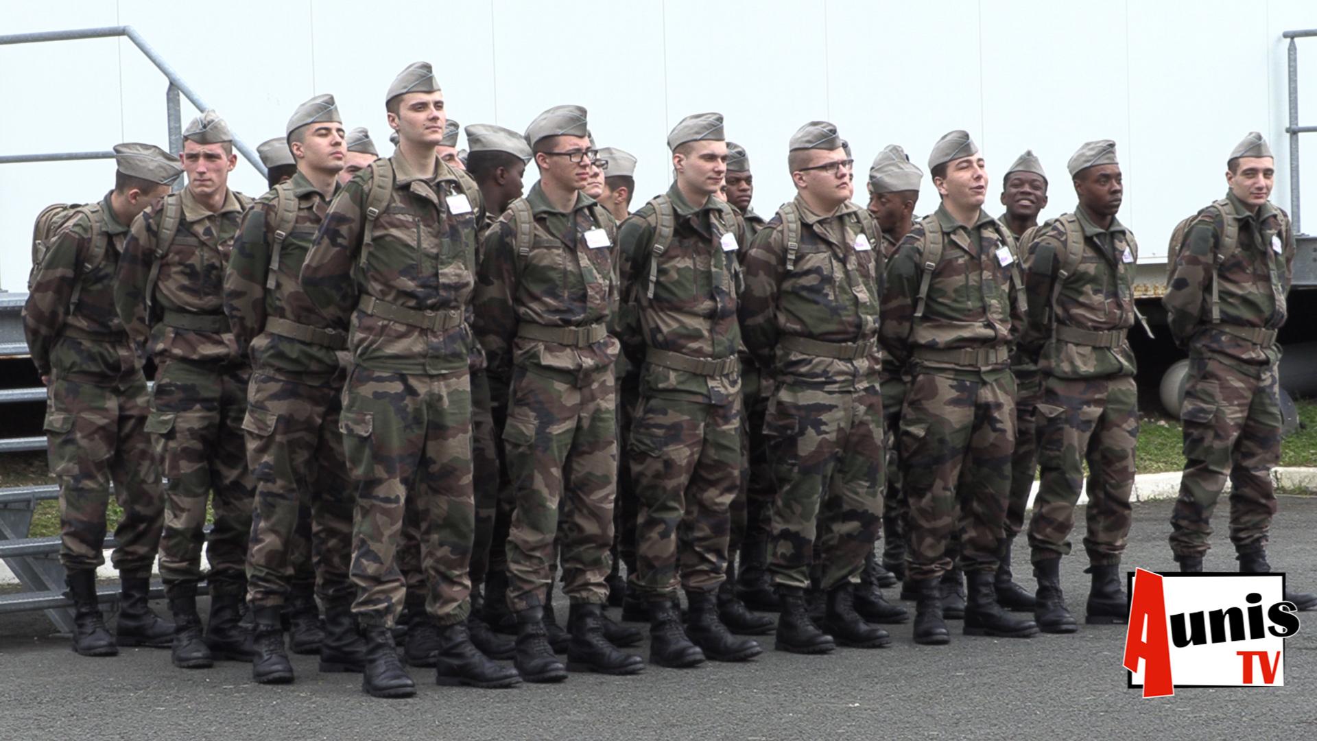 Service Militaire Volontaire La Rochelle armée