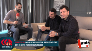 CGR Cinémas. La Rochelle : avec Arnaud DUCRET et Michaël YOUN pour le film DIVORCE CLUB