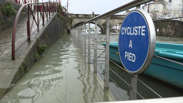 Inondations à Marans