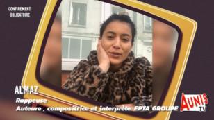 Série. Confinement Obligatoire #3. Avec Almaz, rappeuse, auteure compositrice et interprète du groupe Epta