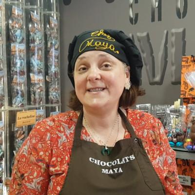 Chocolats Maya à La Rochelle.Sandrine Duclos