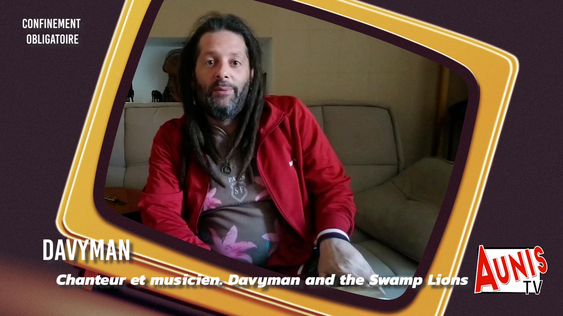 Davyman Confinement obligatoire swamp lions