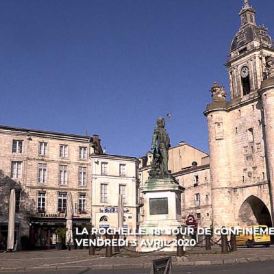 La Rochelle Confinement Coronavirus Covid-19 18e jour
