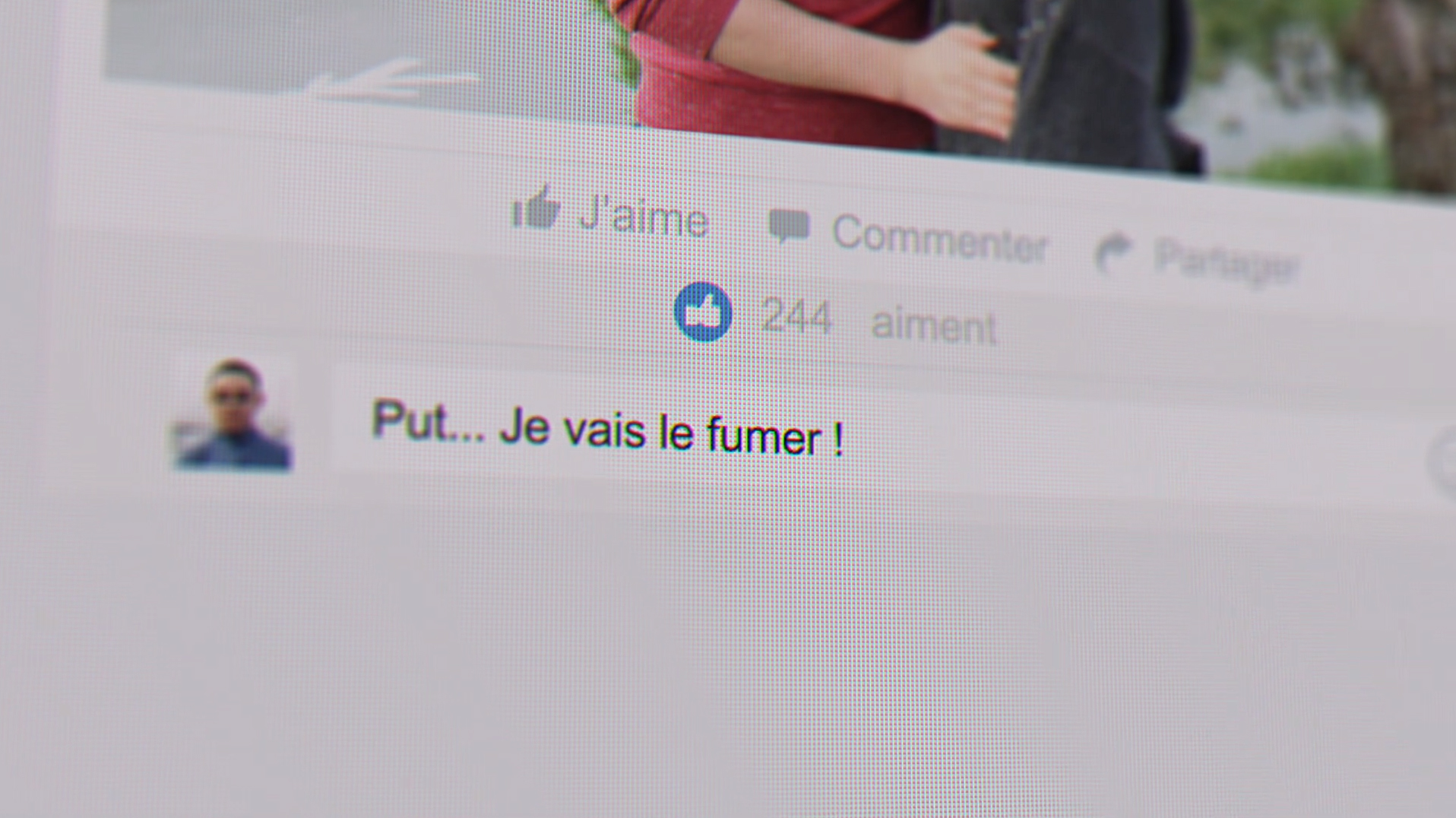 Par ta faute Court métrage Lycée Hôtelier de La Rochelle