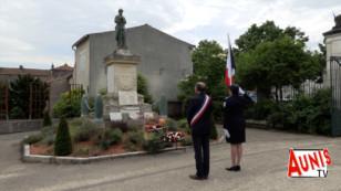 Coronavirus à Marans : une commémoration de l'armistice du 8 mai 1945 bien particulière