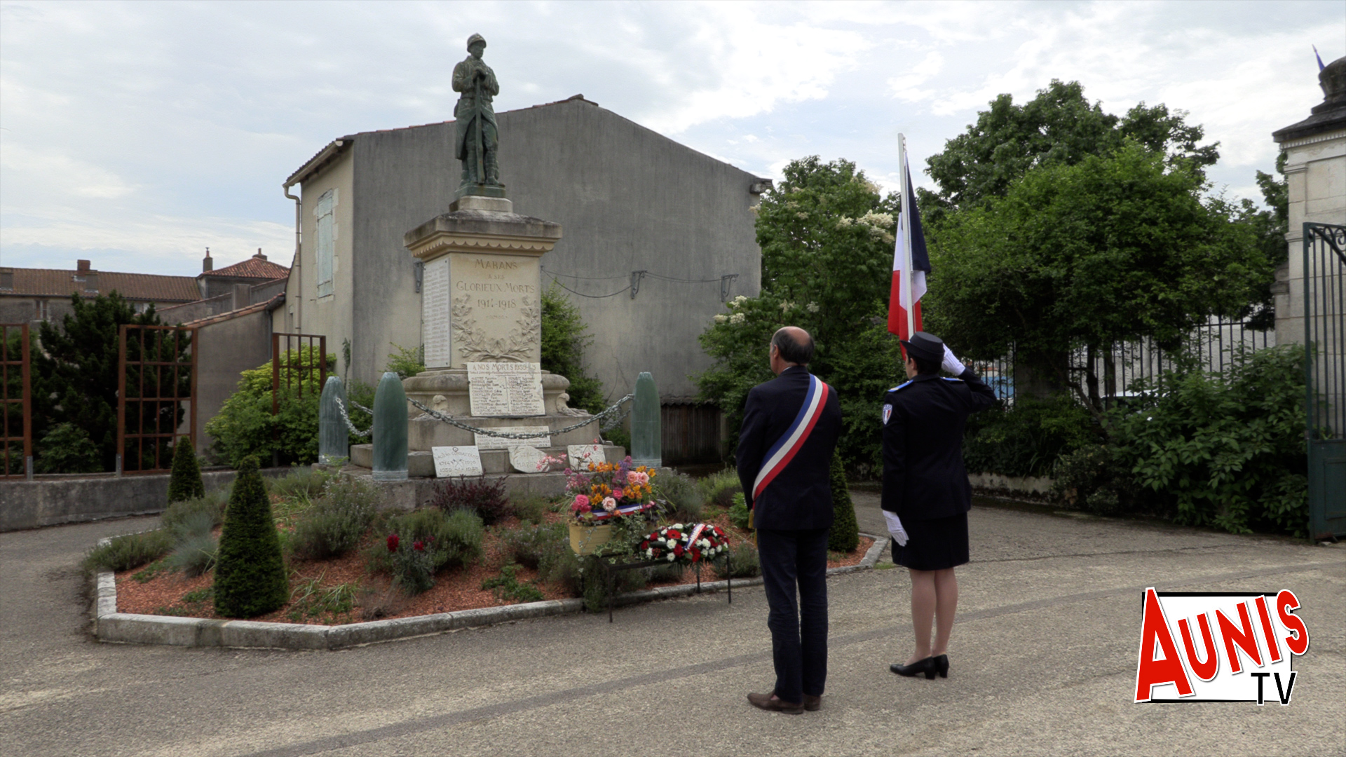 8 mai 1945 Armistice commémoration Marans