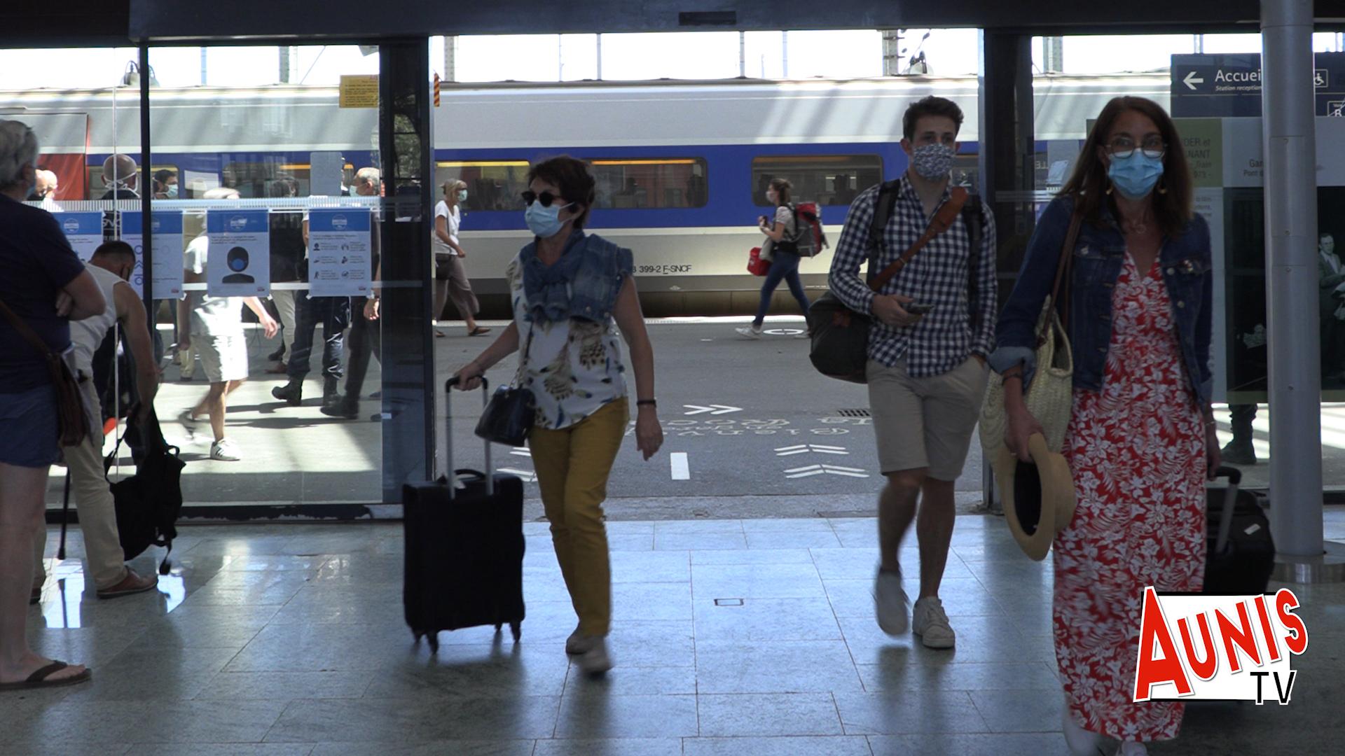 Dispositif Sanitaire Gare de La Rochelle déconfinement