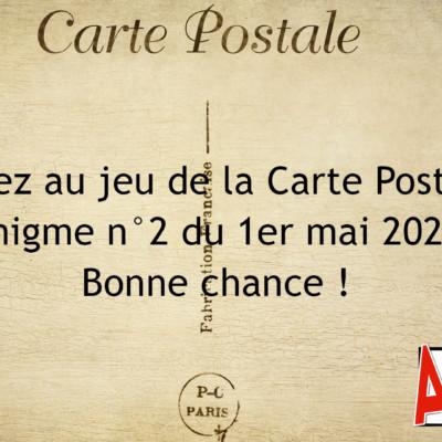 Jeu de la Carte Postale n°2