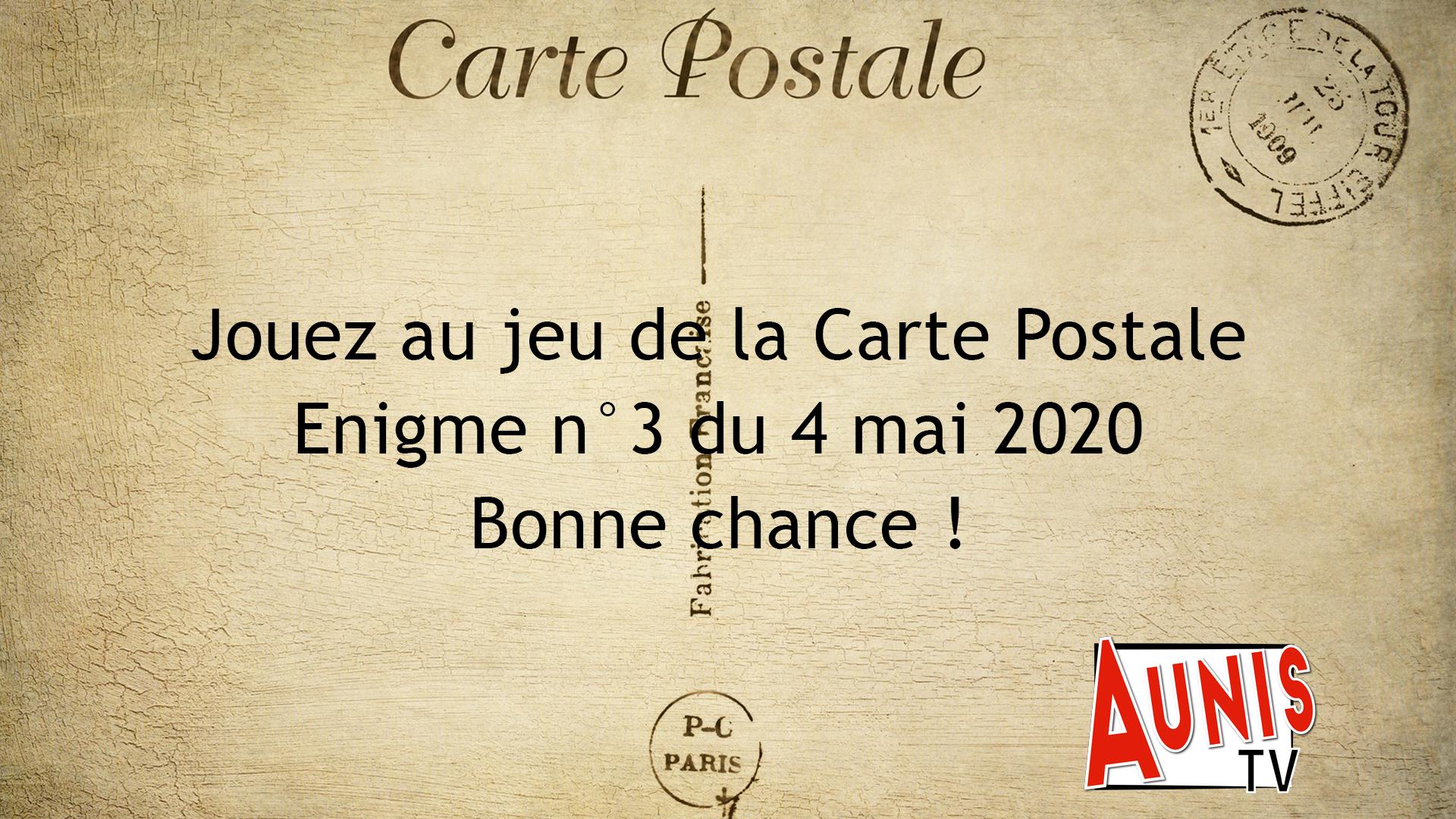 Jeu de la Carte Postale n°3