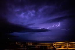 [Photos] Les pluies et les orages de samedi vont se poursuivre ce dimanche et lundi 11 mai