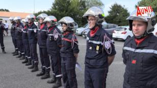 14 juillet à Marans. Cérémonie à minima mais des diplômes et des galons pour les sapeurs-pompiers de la ville