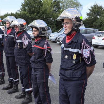 14 juillet Marans Sapeur pompiers