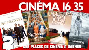 """""""CINÉMA 16 35"""", l'émission 100% cinéma du lundi 6 juillet 2020. L'actu 100% 7e art"""