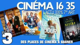 """""""CINÉMA 16 35"""", l'émission 100% cinéma du lundi 20 juillet 2020. L'actu 100% 7e art."""
