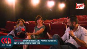 """La Rochelle : Marion Laine parle de son dernier film """"Voir le jour"""" avec Sandrine Bonnaire"""