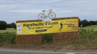 Tour de France en Charente-Maritime Aigrefeuille d'Aunis. ©Ludovic Sarrazin
