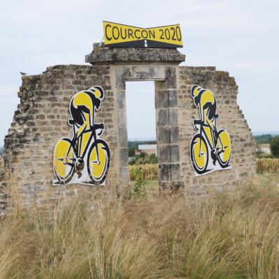 Tour de France en Charente-Maritime Courçon. ©Ludovic Sarrazin