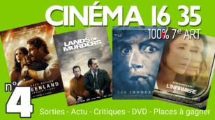 """""""CINÉMA 16 35"""", l'émission 100% cinéma du mardi 4 août 2020."""
