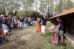 La Grève sur Mignon : un spectacle tout en tuile dans le cadre des Journées du Patrimoine