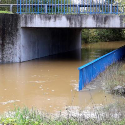 Inondation en Charente-Maritime. Quatre communes reconnues en état de catastrophe naturelle. ©Ludovic Sarrazin