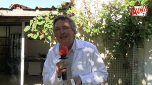 """VILLEDOUX : à 72 ans Marcel Traquet vous lave avec son shampoing solide """"Marcello Doulci""""."""
