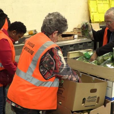 Les bénévoles de la Banque alimentaire seront dans les magasins de la Charente-Maritime du 27 au 29 novembre. ©Ludovic Sarrazin
