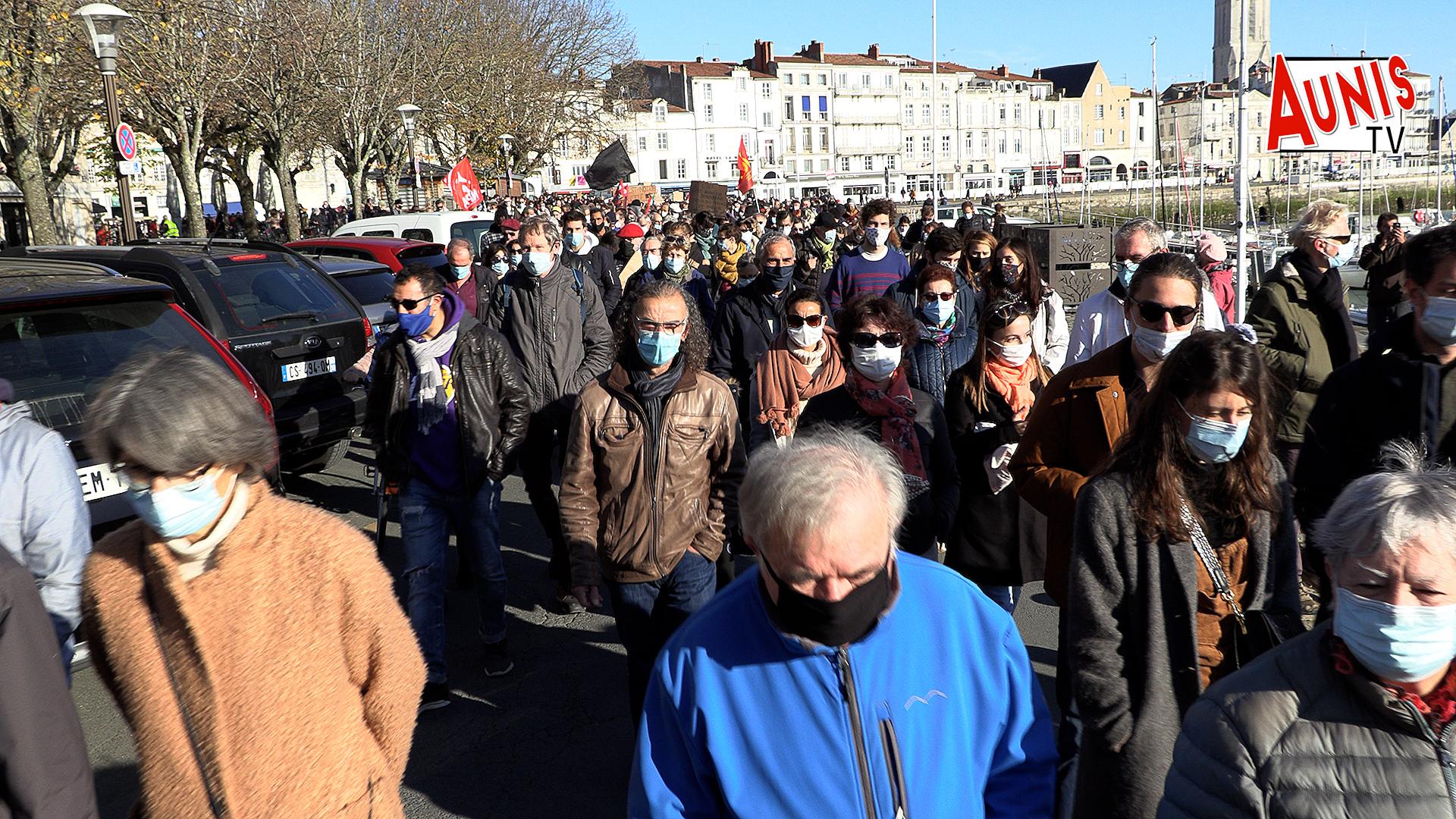 Manifestation La Rochelle Contre la loi Sécurité globale