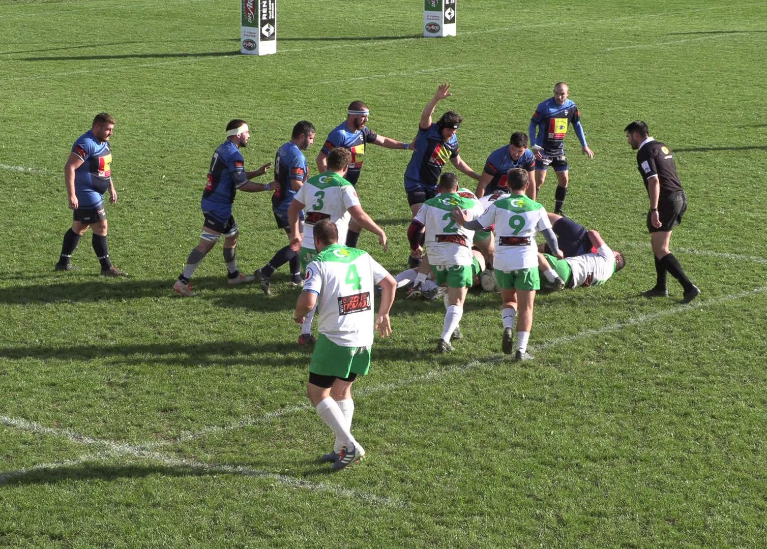 Rugby clubs amateurs Marans ARM Ludovic Sarrazin