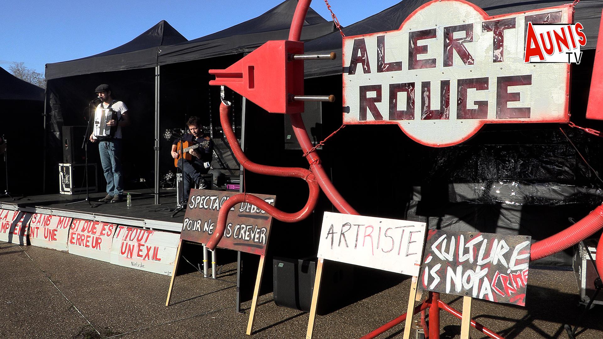 Culture confinement déteresse La Rochelle Artistes