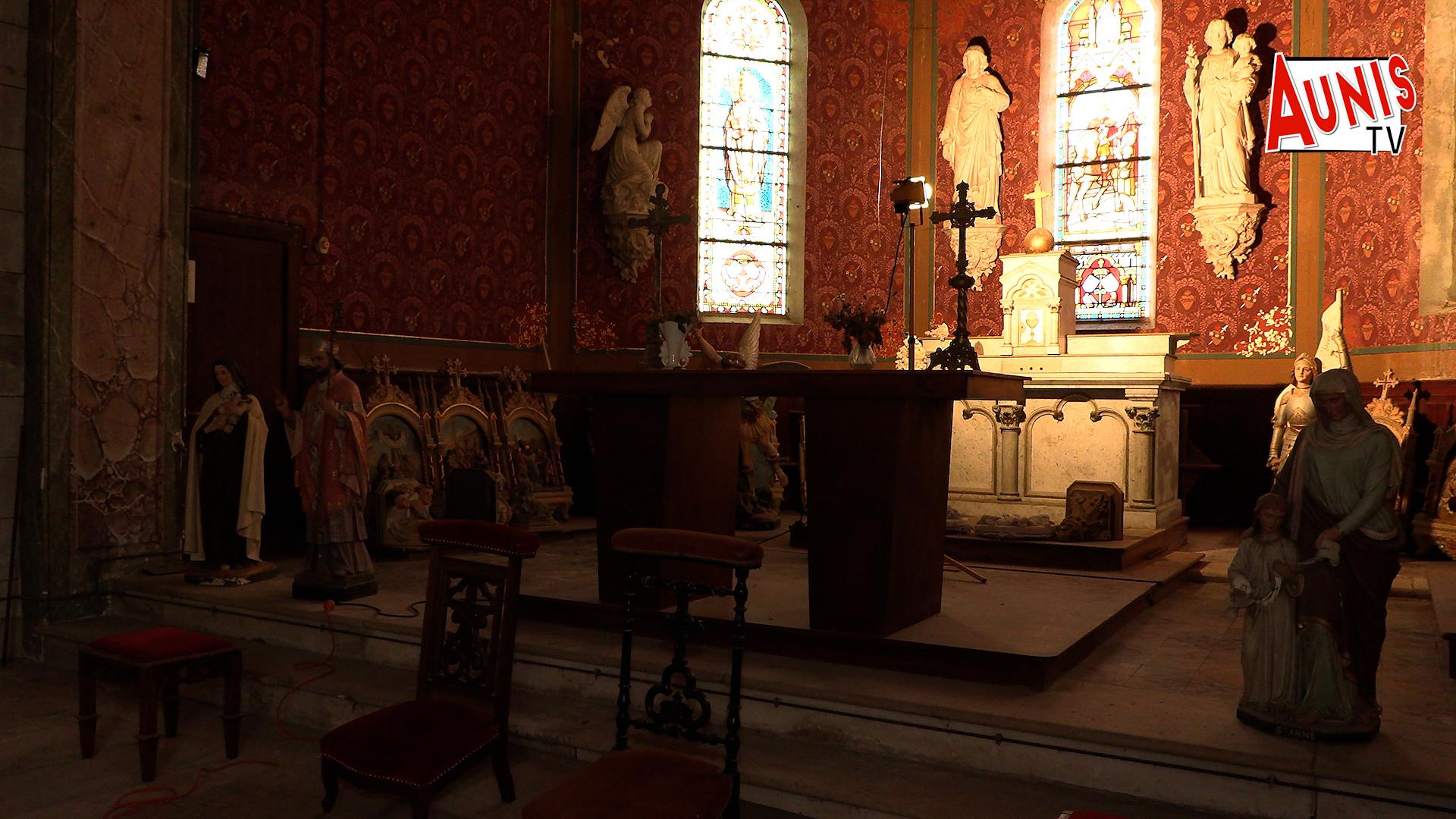 Eglise de Nuaillé d'Aunis Appel aux dons