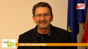 Benon : le maire, Alain Tréton, vous présente ses vœux 2021
