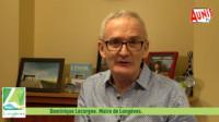 Dominique Lecorgne maire de longèves Voeux 2021