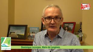 Longèves : les vœux 2021 de Dominique Lecorgne, maire du village