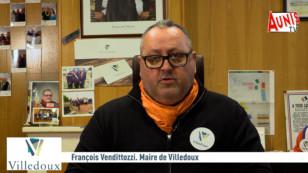 Villedoux : Le maire du village François Vendittozzi présente ses vœux 2021 à la population