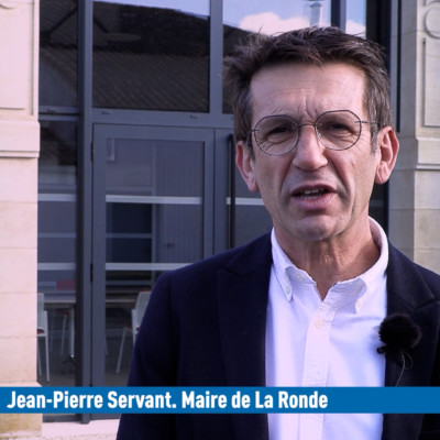 Jean-Pierre Servant Maire de La Rocnde Voeux 2021