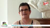 Nadia Boireau Maire de Courçon d'Aunis Vœux 2021