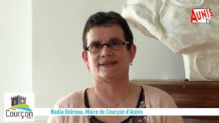 Courçon d'Aunis : Nadia Boireau, le maire du village, présente ses vœux 2021 aux habitants