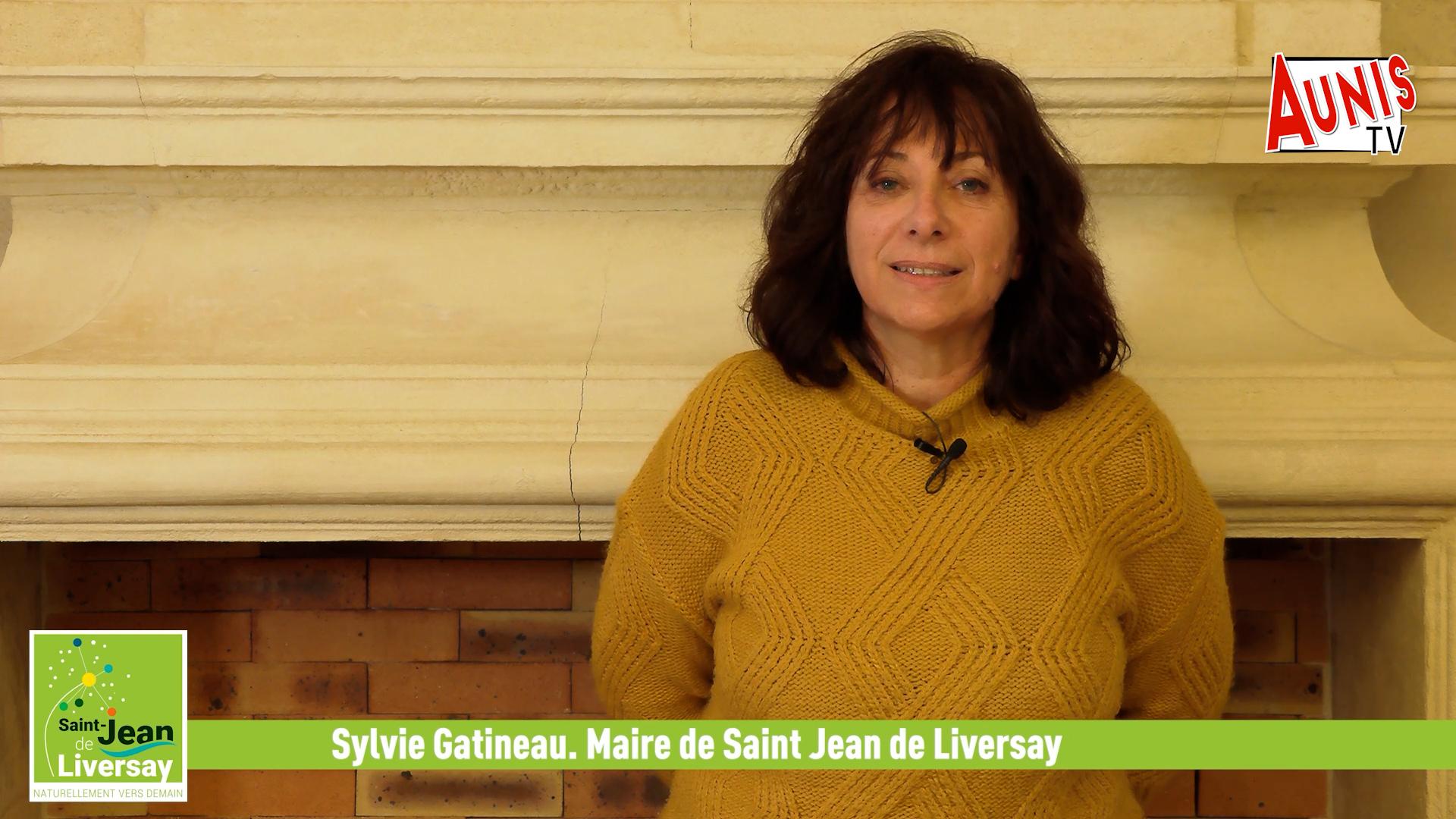 Sylvie Gatineau St JEan de Liversay Voeux 2021