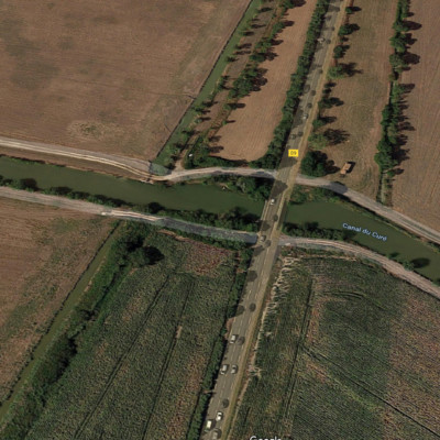Le pont de la Laisse sera en travaux ce jeudi 18 février de 9h à 16h ©Google