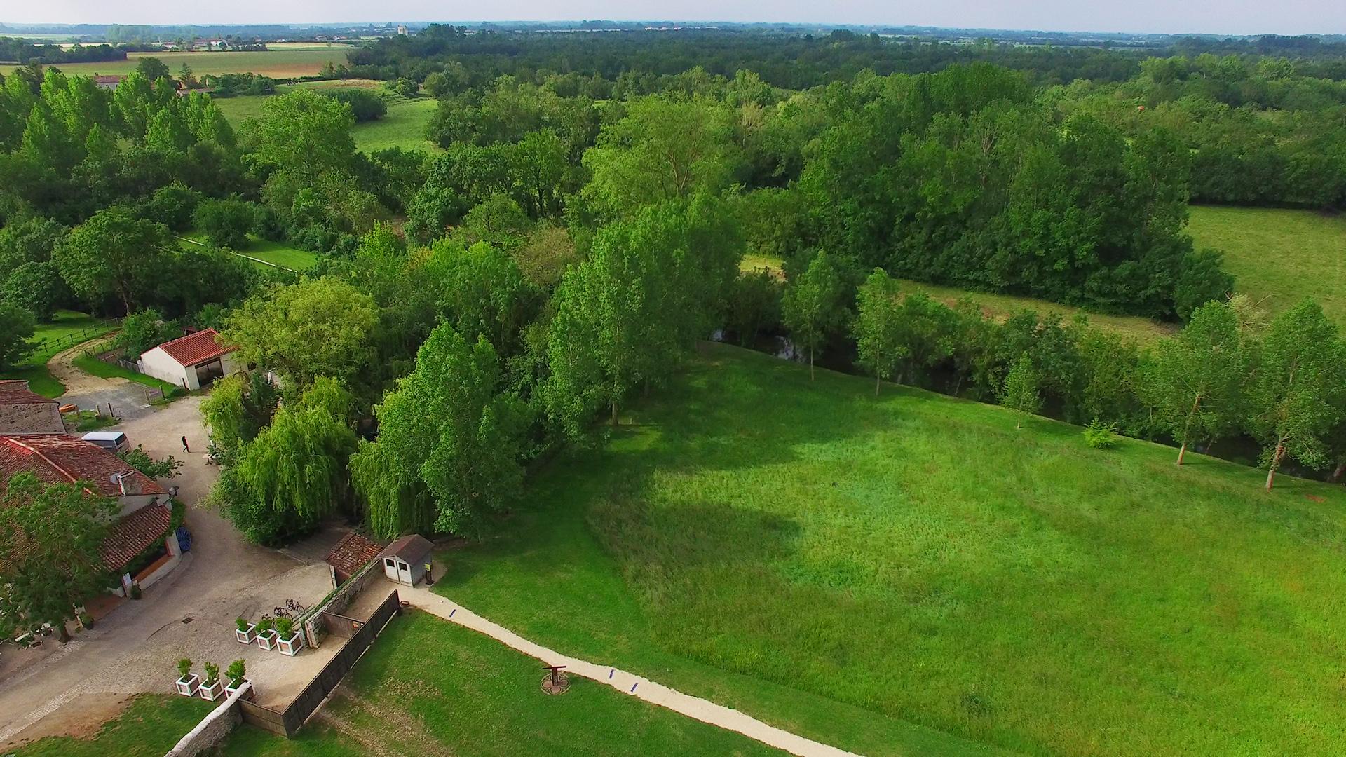 Les arbres du Parc naturel régional du Marais poitevin ©Ludovic Sarrazin