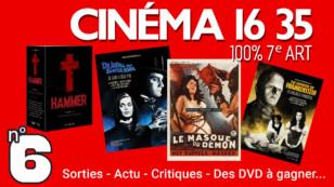 """""""CINÉMA 16 35"""", l'émission 100% cinéma du mercredi 17 février 2021"""