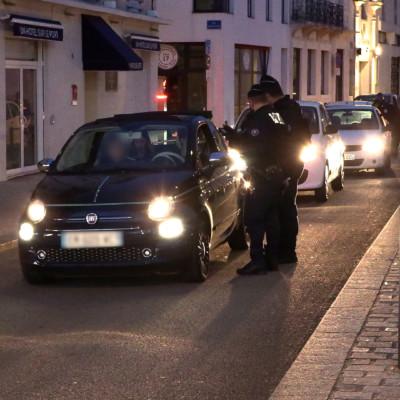 Couvre feu La Rochelle Police Contrôle AunisTV